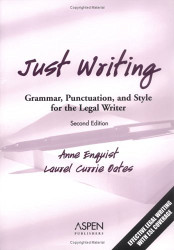 Just Writing - Anne Enquist