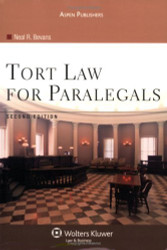 Tort Law For Paralegals