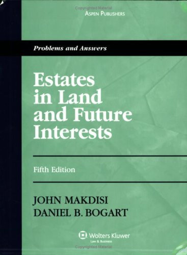 Estates In Land And Future Interests