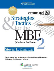 Strategies And Tactics For The Mbe Volume 2