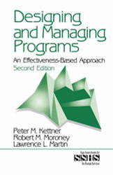 Designing and Managing Programs by Peter Kettner