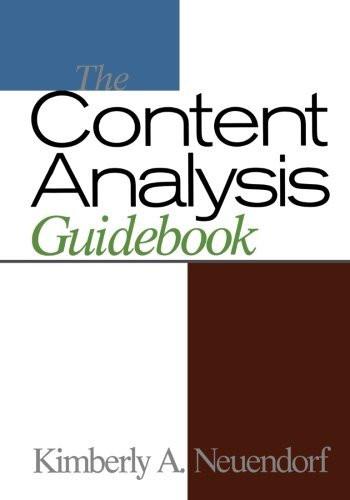 Content Analysis Guidebook