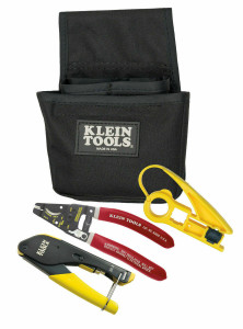 Klein Tools Coax Installer Starter Kit for F-Connectors VDV012-811