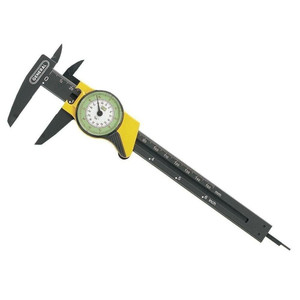 "General Tools Plastic 6"" English & Metric Direct Read Dial Caliper"