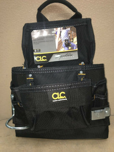 CLC Custom LeatherCraft 5833 9 Pocket Ballistic Poly Nail & Tool Bag