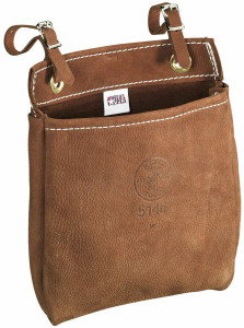 Klein Tools 5146 All-Purpose Durable Leather Bag