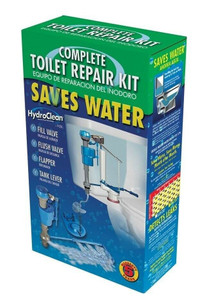 Hydrofit MJSI HWK-130 Total Premium Repair Upgrade Toilet Kit