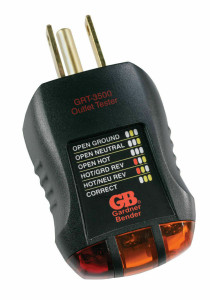 Gardner Bender Wall Outlet Receptacle Tester & Circuit Analyzer