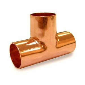 "Elkhart 32700 Bag of 50 Copper Tee's Model 1/2"" ID x 5/8"" OD Plumbing Fitting"