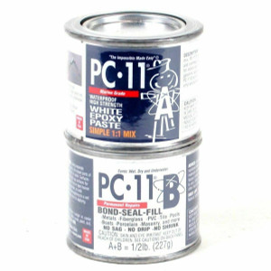 PC Products 080115 PC-11 1/2 lb Can Strong Tough Epoxy Paste Glue Adhesive