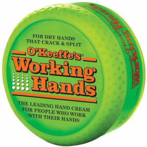 O'Keeffe's K0350007 Working Hands 3.4oz Jar Dry Skin Relief Moisturizing Creme