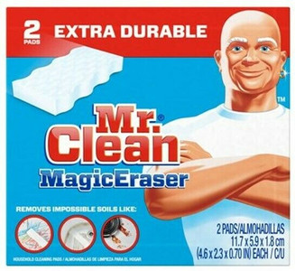 Mr. Clean Lot of 8 Boxes Extra Durable Magic Eraser, 2 Pads Per Box