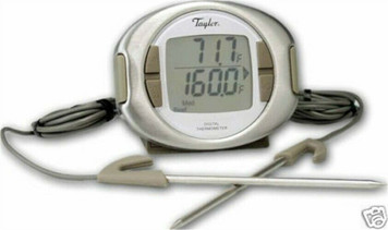 Taylor 522 Digital Dual Probe Thermometer & Timer