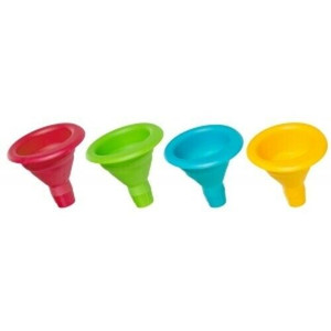 Progressive CF-100CDP Mini Collapsible Funnel in Assorted Colors