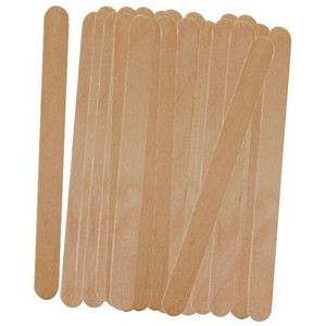 Progressive 50 Count Wood Freezer Popsicle Sticks