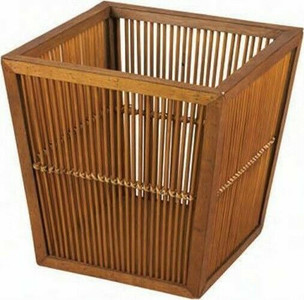 Household Essentials Whitney Designs Square Bamboo Basket (WDML-6223)