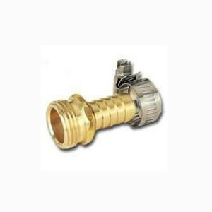 "MintCraft 1/2"" Brass Male Hose Repair End w/ Clamp GB934M3L"