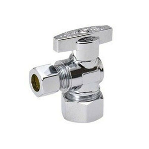 """Mueller Industries Water Supply 1/2""""fip x3/8"""" OD Angle Valve 190-232HC"""