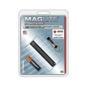 Maglite Black AAA Mini Mag Flashlight w/ Lanyard K3A016
