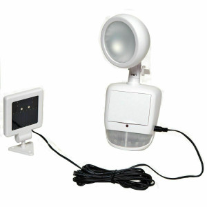 Boston Harbor Solar Light Security 100 Lumens (A3P-S100-WH-PK1)