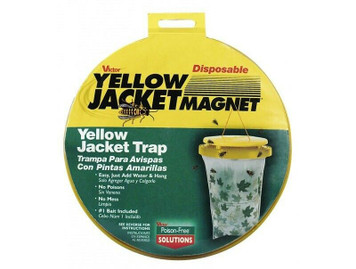 Victor M370 Yellow Jacket Magnent Disposable Bag Trap