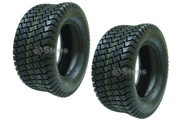 Set of 2 CST 4Ply Tubeless Pro Tech Mower Tires 23 x9.50-12