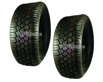 2 Stens 160-529 CST 4 Ply Tubeless Mowku Lawn Mower Tires 23 x 8.50-12