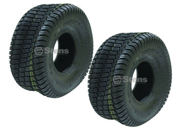 2 Stens CST 4 Ply Tubeless Pro Tech Lawn Mower Tires 20x10.00-8