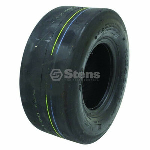 Stens Tubeless 4 Ply Smooth Tread Lawn Mower Tire 11x400x5