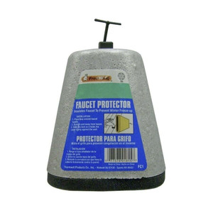 Frost King FC1 Grey Faucet Protector Cover Foam 1""