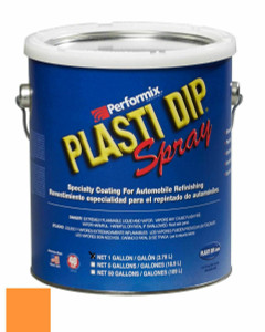 Plasti Dip 10125S 1Gal Fluorescent Orange Dip Spray