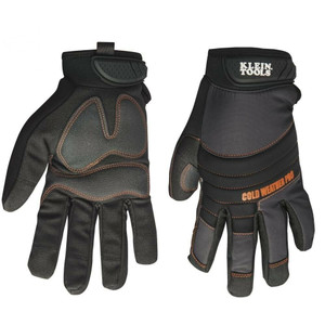 Klein 40212 Large Journeyman Cold Weather Pro Gloves Size Large