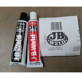 J-B Weld 8265-S Epoxy Adhesive Cold Welding Compound (1oz Tubes)