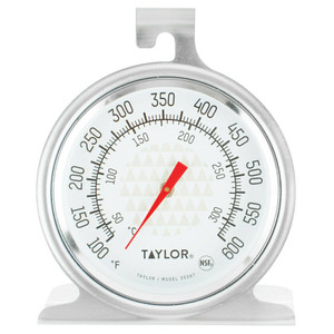 Taylor 3506 Stainless Steel Oven Thermometer