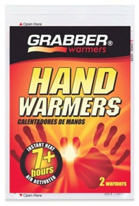 Grabber HWES 2 per Pack Hand Warmers Heats for 7 Hours