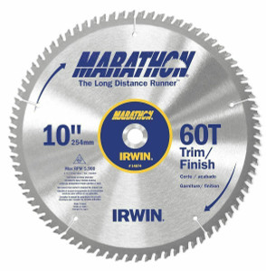 IRWIN Marathon 14074 Combination Circular Saw Blade