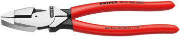 Knipex w/09 01 240 High Leverage Linemans Pliers 9""