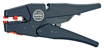 "Knipex Self Adjusting Insulation Wire Stripper 8"" 32 to 7 AWG"