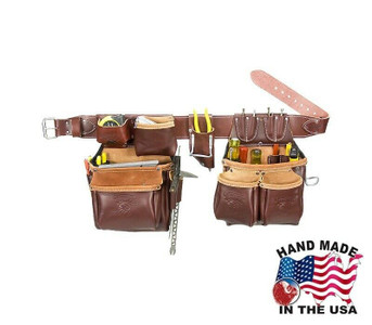 Occidental Leather 5530 LG Stronghold Big Oxy Set is a professional, heritage quality tool bag belt with an innovative full capacity round bottom.