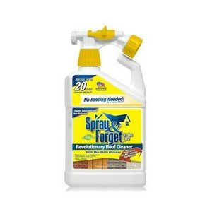 Spray & Forget SFSRC-6Q Super Concentrated 32 oz. Roof Cleaner with Hos Sprayer
