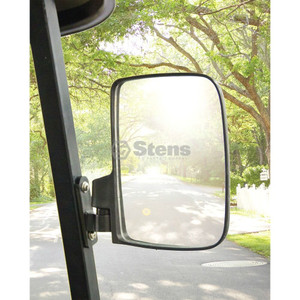 Stens 851-955 Set of 2 Universal Golf Cart Side Mirrors Polaris Yamaha Kawasaki