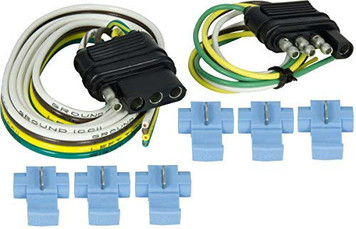 Hopkins 48205 Trailer Connector Kit 4 Flat Series