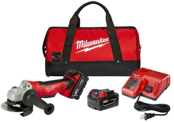 "Milwaukee Tools 2680-22 M18 Cordless Lithium-Ion 4-1/2"" Cut-Off /Grinder has a Milwaukee 4-pole motor that delivers maximum power when cutting or grinding."