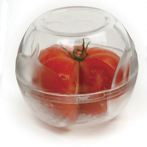 """Norpro 264 4""""x 4.25"""" Fruit and Vegetable Keeper, Stackable"""