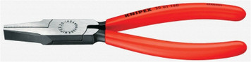Knipex 2001160 6.3 Inch Plastic Grip Flat Nose Pliers