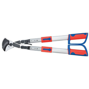 """Knipex 9532038 Ratchet Action Cable Shears with Telescopic Handles 22"""""""