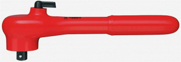 """Knipex 9831 Insulated Reversible Ratchet with Driving Square 3/8"""""""