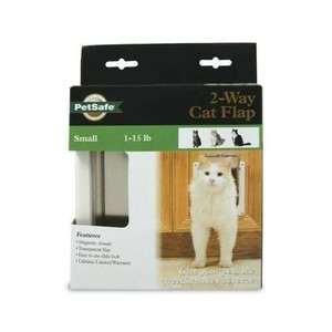 PetSafe CD10-050-11 2 Way Plastic Locking Animal Flap For Small Pets