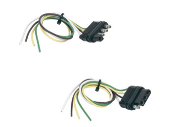 Hopkins 48175 Basic Wiring Solution 4 Wire Flat Vehicle & Trailer Side