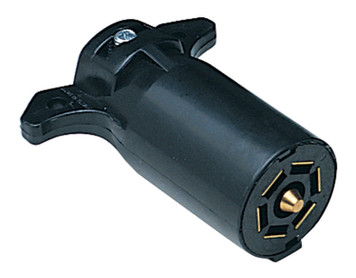 Hopkins 48505 Trailer Connector 7 Blade Plug for Large Trailers